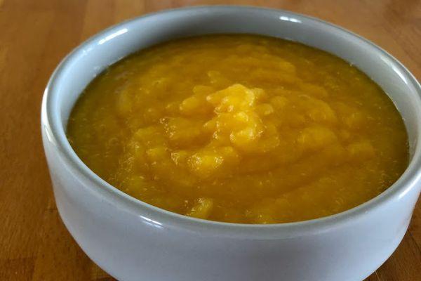 Compote pomme mandarine