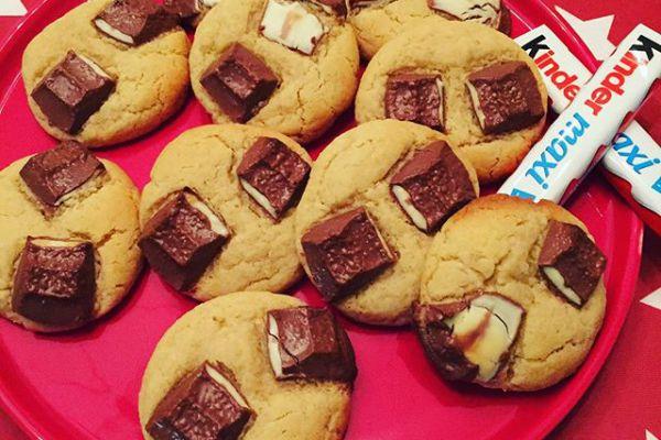 Recette cookies kinder
