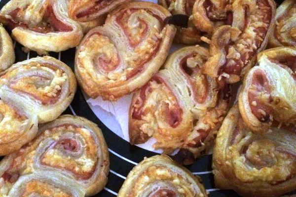 Recette Palmier au bacon