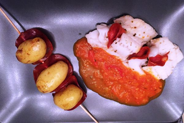 Recette Cabillaud chorizo tomates