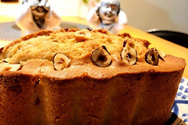 Recette Cake praliné et noisettes
