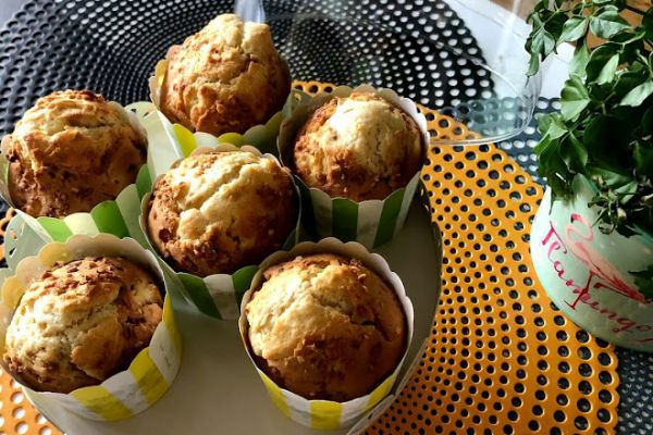 Recette Muffins pomme pralin