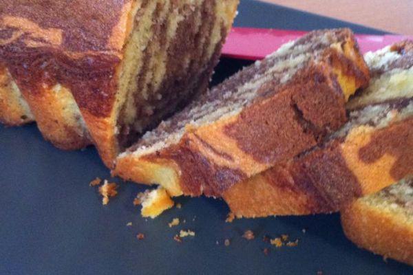 Recette Cake marbré