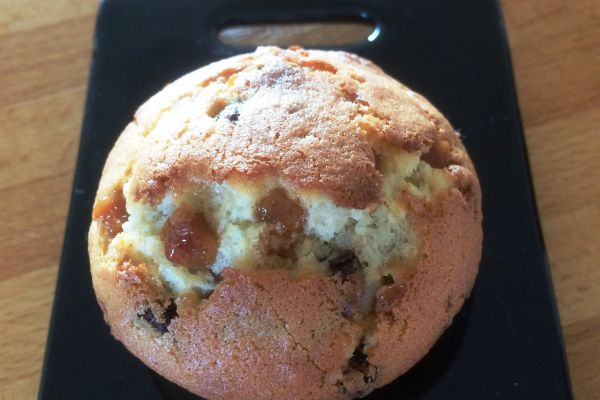 Muffin chocolat/caramel/nougatine