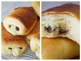 Recette Petits pains briochés aux chocolat