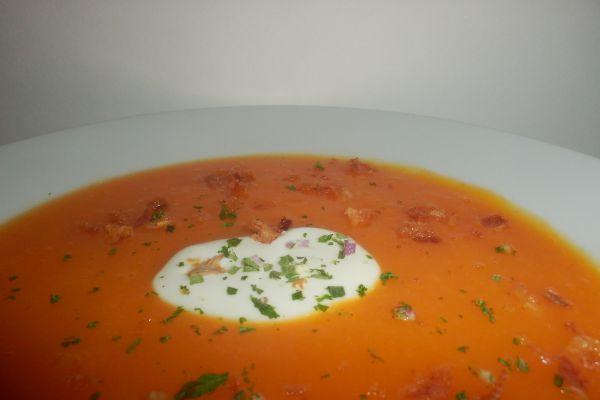 Soupe velouté carotte/pomme de terre/courgette