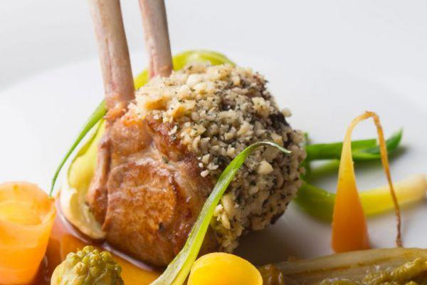 Recette Carré d'Agneau, Légumes de la ferme