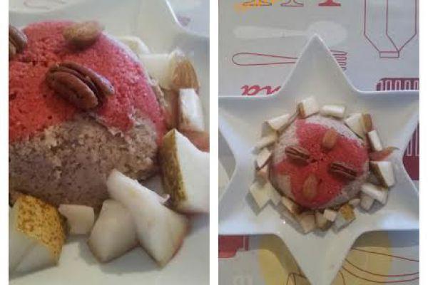 Bowlcake coco/choco/poires