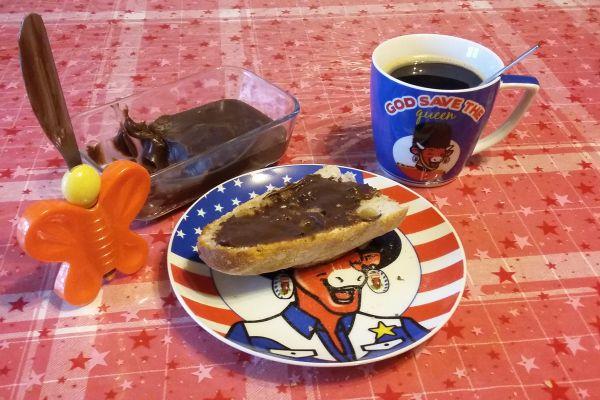 Pâte à tartiner au chocolat maison