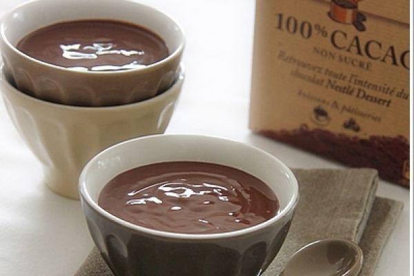 Crème danette au Chocolat