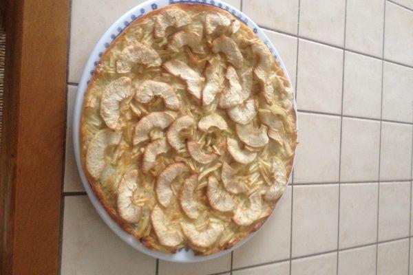 Recette tarte aux pomme sans pate