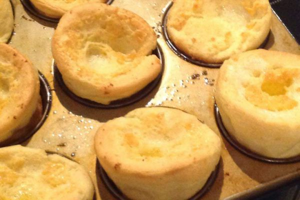 Recette Yorkshire pudding
