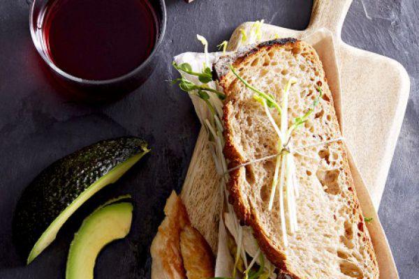 Recette Sandwich poulet-avocat