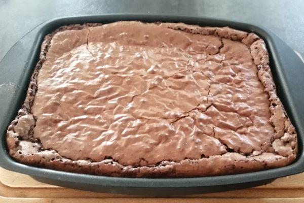 Recette Brownie pépites nougatine