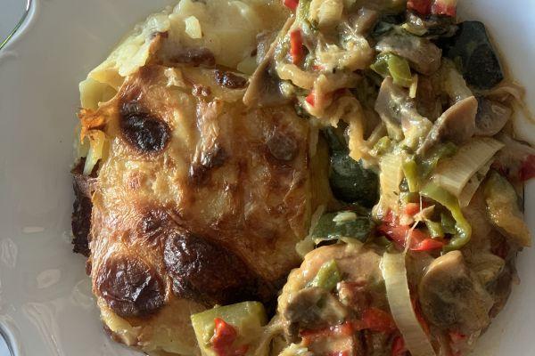 Recette Cocotte de cuisses de lapin aux petits légumes