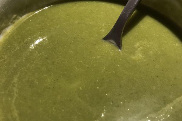 Recette Soupe de légumes verts au petit billy WW