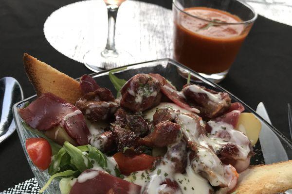 Recette Salade périgourdine