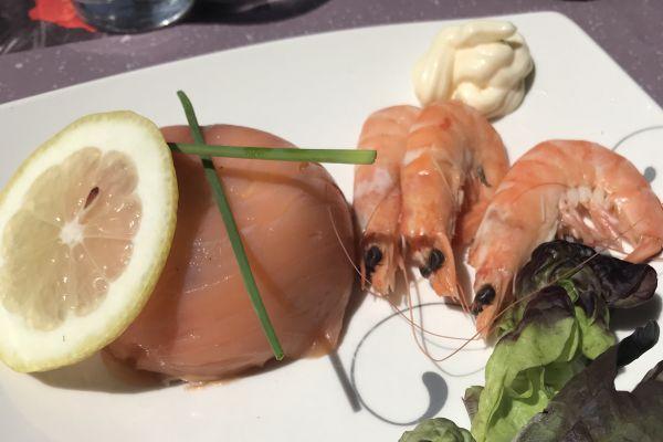 Recette Dôme de saumon fumé et fromage frais