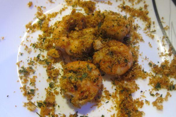 Recette Crevettes épicées enrobées