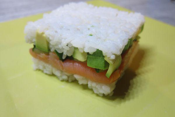 Recette Sushi révisité