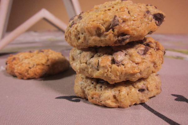 Cookies aux flocons 5 céréales et chocolat