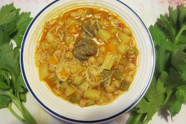 Chorba (soupe algérienne)