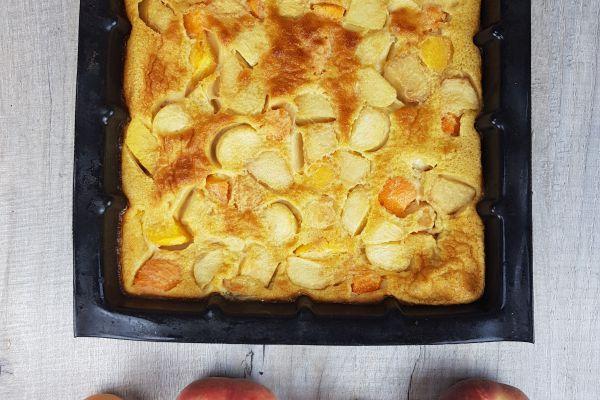 Recette Clafouti pêche abricot