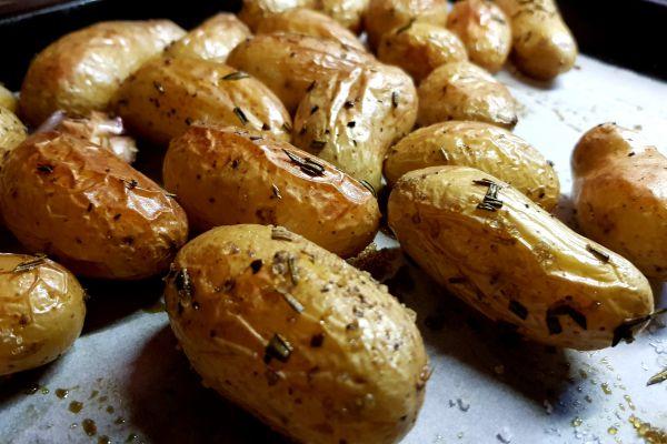 Recette Pommes de terre grenailles au four