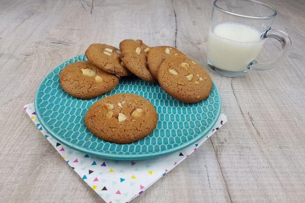Cookies chocolat au lait et noix de macadamia