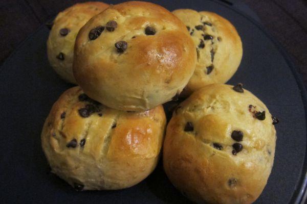 Recette Petits pain au lait aux pépites de chocolat