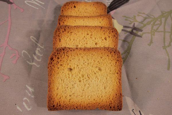 Recette Biscottes (en recyclage de vieux pain)