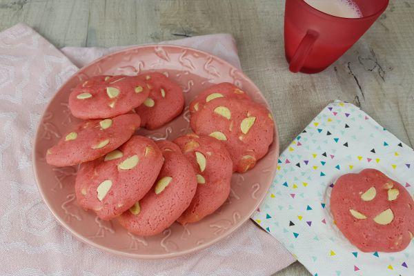 Cookies framboise et chocolat blanc (sans beurre)