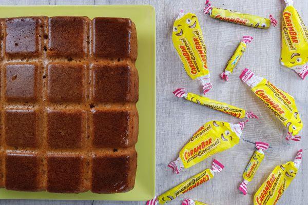 Recette Gâteau moelleux aux carambars
