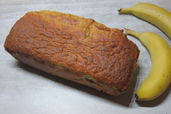 Cake chocolat banane