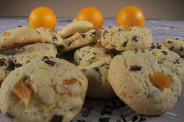 Cookies chocolat orange