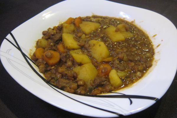 Recette Lentilles en sauce