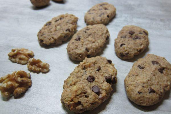 Biscuits petit-déjeuner noix orange