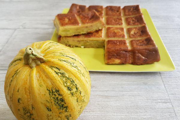 Recette Gâteau invisible/flan aux courgettes
