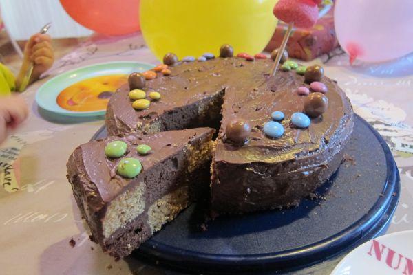 Recette Gâteau damier chocolat vanille