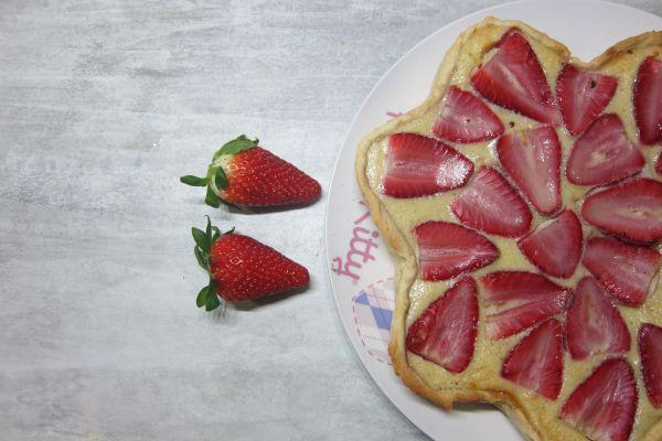 Tarte fraise et banane
