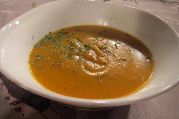 Recette Soupe courge butternut et coriandre