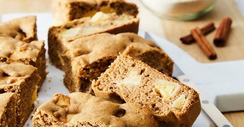 Recette Gâteau aux pommes et sarrasin