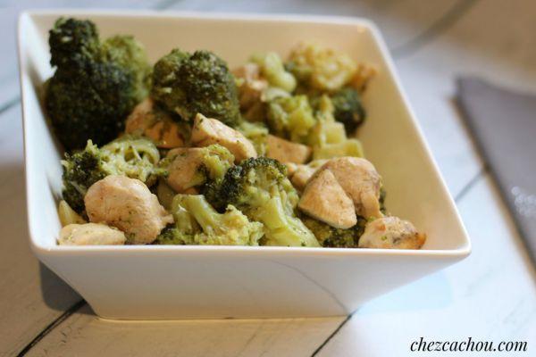Recette Blancs de poulet et brocolis au Cookeo