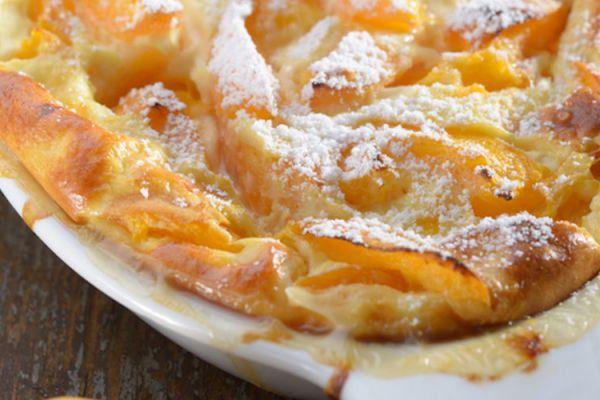 Clafoutis aux abricots Cake Factory