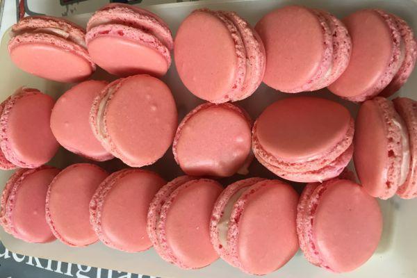 Recette Macarons à la fraise