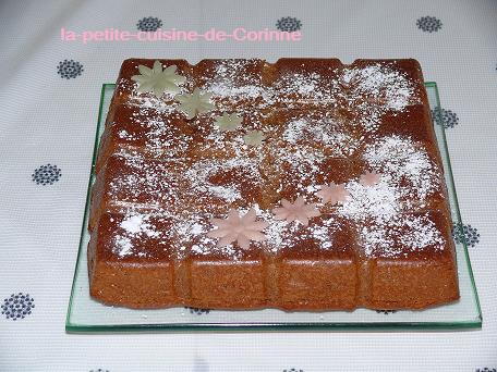 Recette Gâteau aux carambars