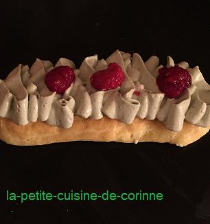 Recette Eclair revisité chantilly mascarpone pistache