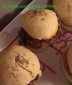 Recette Mini cheesburger