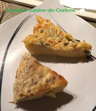 Recette Quiche sans pâte tup