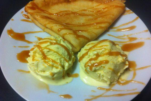 Crêpe au salidou (caramel au beurre de guérande)